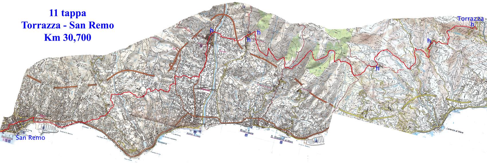 11 Torrazza-San Remo